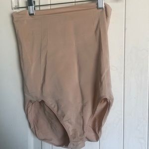 Nude high waisted spanx